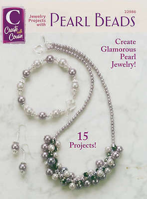 Cousin Corporation Books Jewelry Projects W/Pearl Beads C-22986