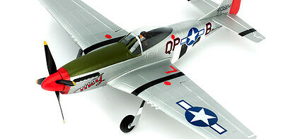 ParkZone Ultra-Micro P-51D Mustang Bind-N-Fly BNF w/LiPo & Charger