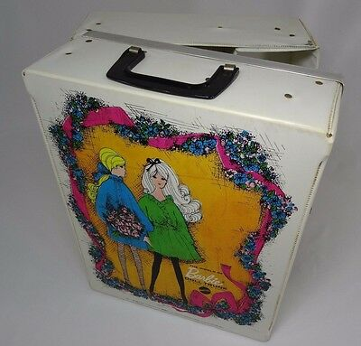 Vintage World of Barbie doll Trunk Double