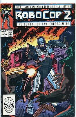 1990 Robocop 2  #2 & #3 The Future Of Law Enforcement( Set Of 2 Issues ) Marvel