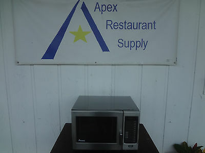 Amana RFS10S 1000 Watts Commercial Microwave Oven, 120 volt #1877
