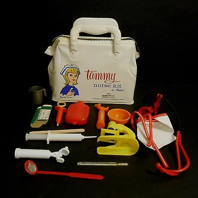 1963 Tammy Vintage Extremely Rare Nurse Kit Nr Mint w/ contents issued by Hasbro