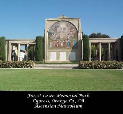"1-Cemetery plot in Cypress Forest Lawn"" SOLD OUT Prime Location-Eternal Peace!!!"