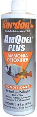 Kordon Amquel Plus 16oz Aquarium Ammonia Detoxifier