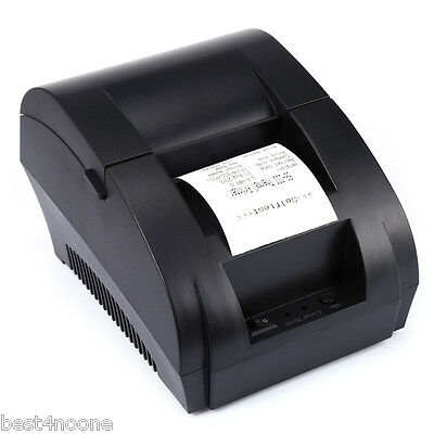 ZJ - 5890K Portable 58mm USB POS Receipt Thermal Printer with USB Port