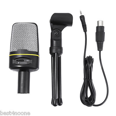 Unidirectional Dynamic Condenser Sound Microphone with Stand Holder for MSN Skyp