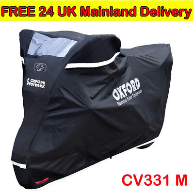 Oxford CV331 Stormex Outdoor Motorcycle Cover Heavy Duty Motorbike Rain Covers M