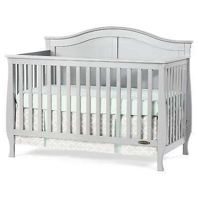 Child Craft Camden 4-in-1 Convertible Crib - Cool Gray
