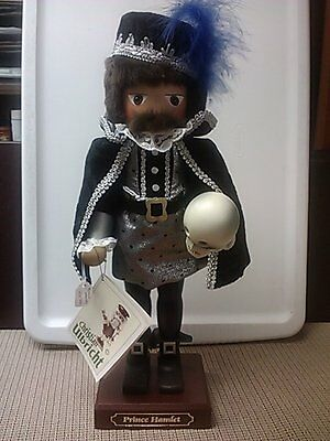 Prince Hamlet (#2 of 2 in stock) a Christian Ulbricht nutcracker Limited Edition