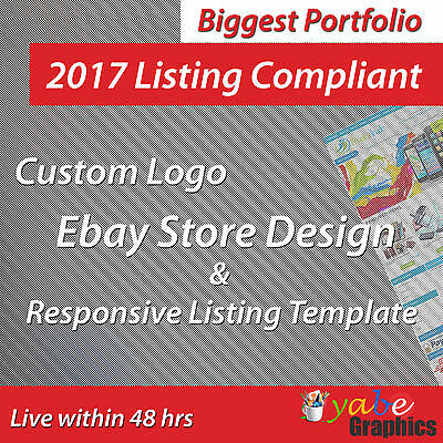 Ebay Store Design and Auction Listing Template Professional Dynamic Shop Package