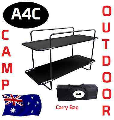 Double Bunk Bed Stretcher Camping Outdoor Bed