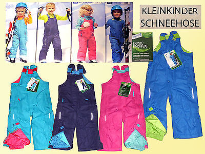 Baby Toddler Snow And Ski Trousers Dungarees Gr.74-92 color selectable new