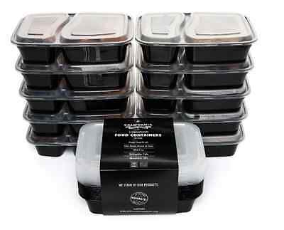 10 Food Containers, Lunch Box, Meal Prep, Muscle Planning + Free Delivery