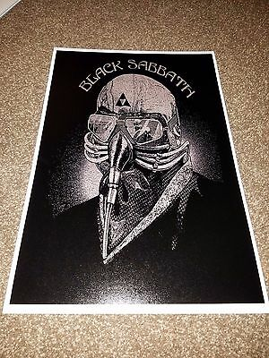 Black Sabbath tour poster Official 2016 Tour Poster The End Black Sabbath Poster