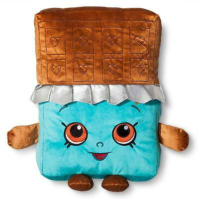 "Chocolate Throw Pillow (14""x11"") Blue - Shopkins®"