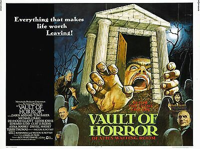 """The Vault of Horror 16"""" x 12"""" Repro Movie Poster Photograph"""