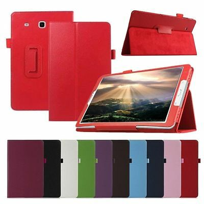 "Smart Flip Leather Stand Case Cover For Samsung Galaxy Tab E 9.6 A 7"" 9.7"" 10"""
