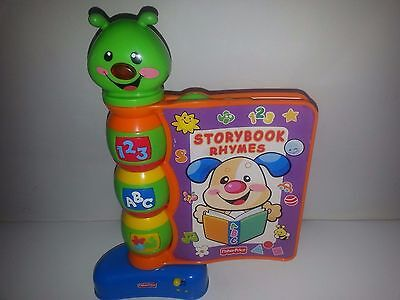 Fisher Price Story Book Rhymes-Interactive Book For Baby,kids-W/batteries-Works