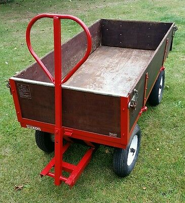 Saxon 4 wheel trolley cart trailer to suit- Garden, Stables