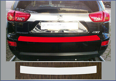 bumper strip protective film clear Peugeot 4007, Year built 2007