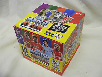 2014/15 MATCH ATTAX box of 50 sealed packets  (500 cards 14/15)