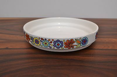 Gorgeous mid century vintage Lord Nelson Ware 'Gaytime'  Shallow Dish