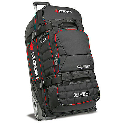 Genuine Suzuki OGIO 9800 SLED Black Polyester Trolley Bag 180 Lt