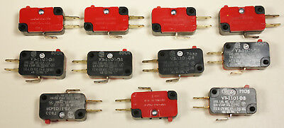Honeywell  Snap Action  Microswitch 10A 1/3HP 125, 250 VAC Quantity of 15 NEW!