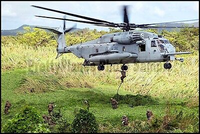 USMC CH-53 Super Stallion Helicopter VMM-262 Okinawa 2014 8x12 Photo