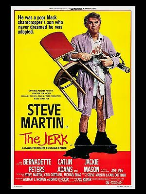 "The Jerk 16"" x 12"" Reproduction Movie Poster Photograph"