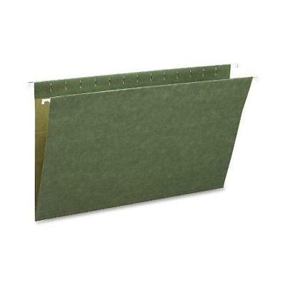 Smead Hanging File Folder, Legal Size(No tabs), Standard Green,  25 per Box New
