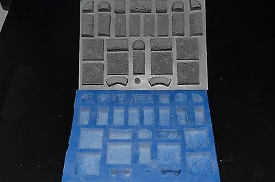 Lady Sabelle Designs Hedge Maze Silicone Mold Hirst Arts Dwarven Forge Terrain