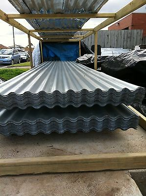 Corrugated roofing iron Zincalum  NEW 1.8 - 5.4M X 9OO $7.50 Lineal mtr Incl GST