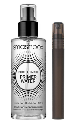 Smashbox Photo Finish Primer Water 10Ml In A Handy Glass Refillable Purse Spray