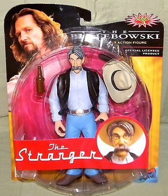"THE STRANGER Big Lebowski Urban Achiever 8"" Series 3 ACTION FIGURE Package Wear"