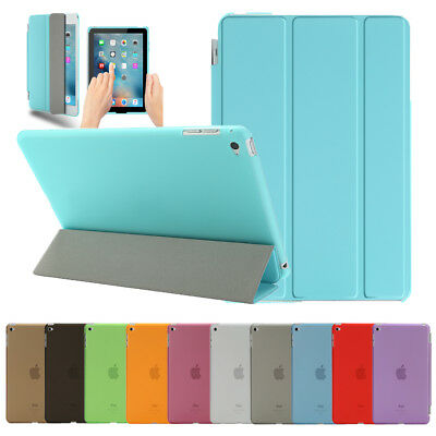 Ultra Slim Magnetic Leather Smart Cover Stand Case For iPad 2 3 4 Mini Air 2 Pro
