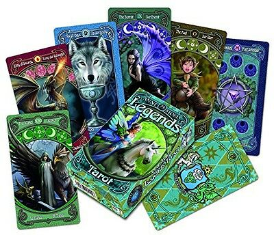 ANNE STOKES Anne Stokes Legends Tarot Cards