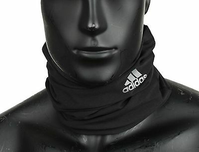 adidas 2016 Unisex Neck Warmer Climalite Running Wrap Black Face Mask S94189