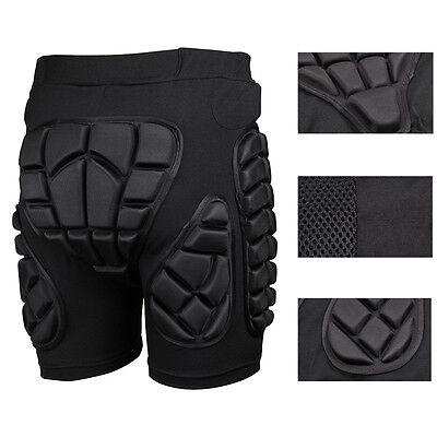 Sport Hip Bum Armour Shorts Skiing Motocross Motorcycle Protection Padded Pants