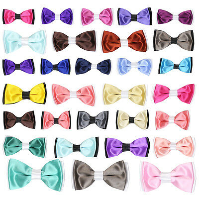 Boys Pre Tied Colourful Bow Ties with Adjustable Strap Boy Bow Tie
