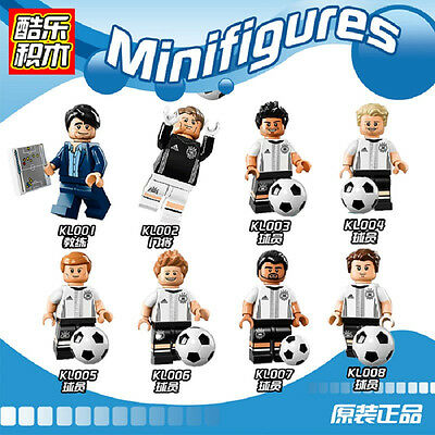 Custom Reproduce Minifigure - DFB German Soccer Football Series Compatible