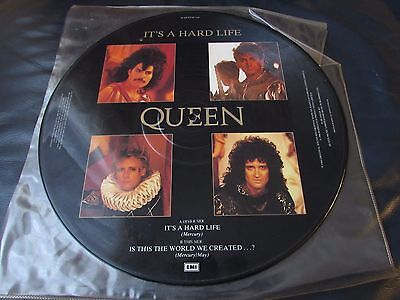 "Queen - It's A Hard Life 12"" UK Picture Disc"