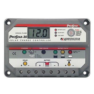 Solar Charge Controller Morningstar ProStar PS-30M 12/24V 30A Off-Grid - SALE!!