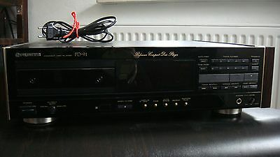 Pioneer PD-91 CD-Player Urushi Design Reference Player