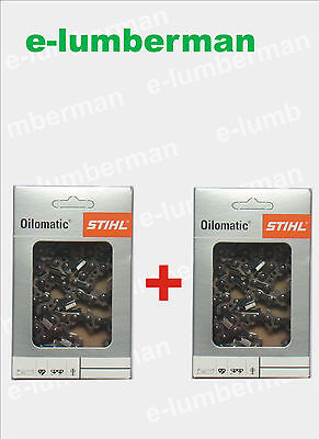 STIHL Chainsaw Saw Chain Original Genuine  PACK OF TWO