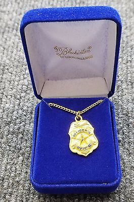 Blackinton Police Officers Wife Necklace