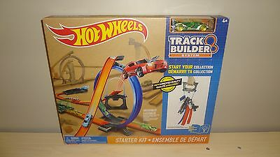 Brand New, Sealed Hot Wheels Starter Kit Track Builder System! Includes 1 Car!