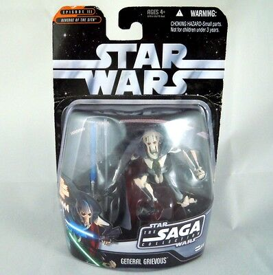 *rare* Star Wars Revenge Of The Sith General Grievous Figure Unopened