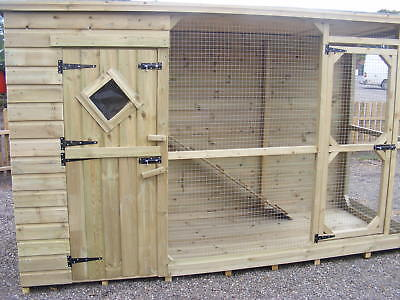 Cat House And Run ***uk Delivery Available***