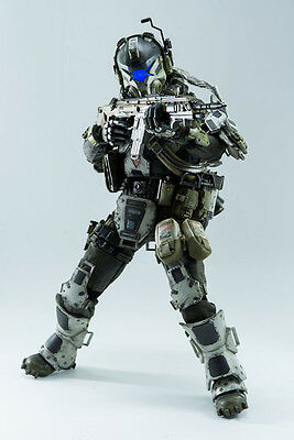 THREEZERO - IMC BATTLE RIFLE PILOT / Titanfall figurine, 30 cm